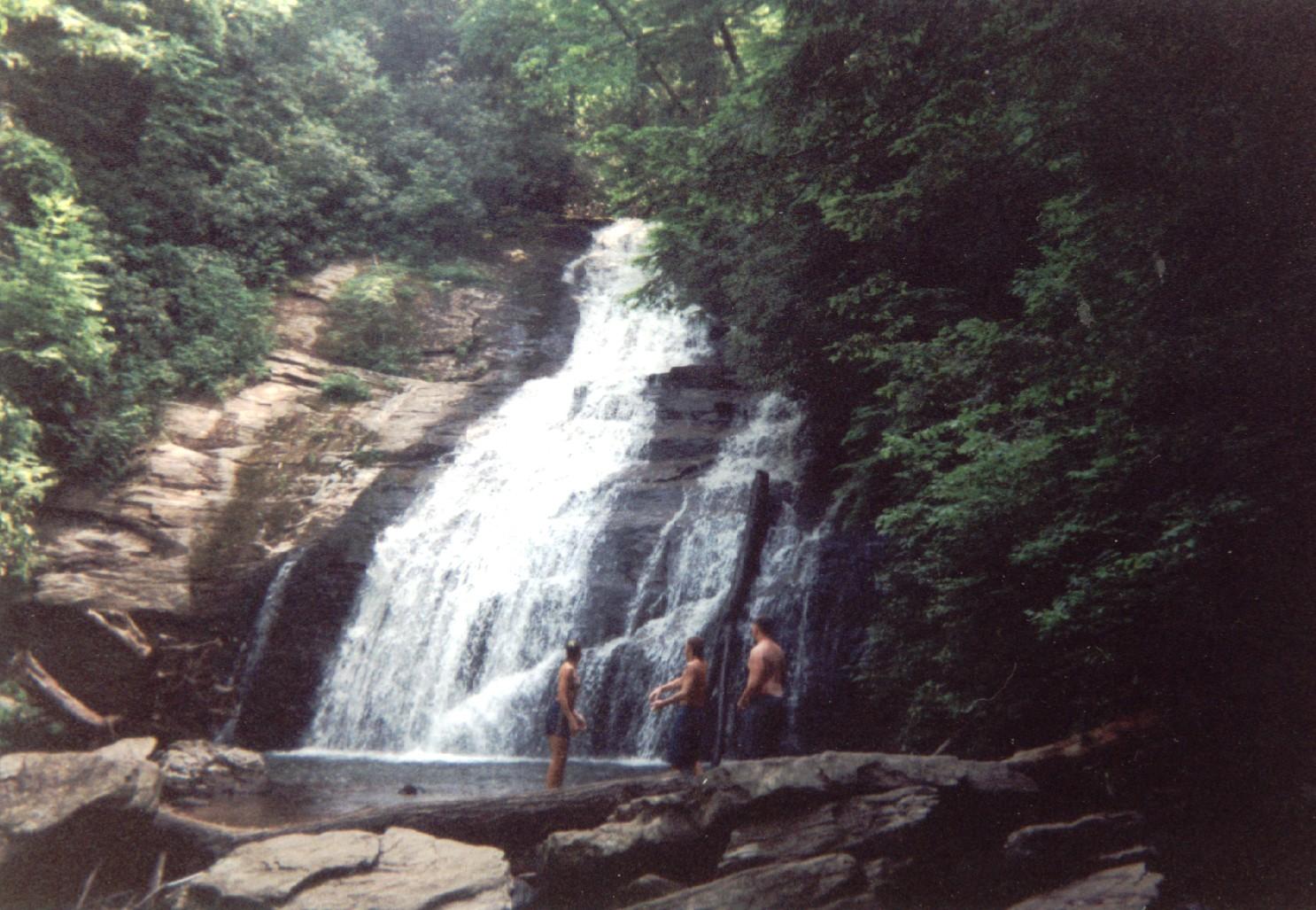 Helton Creek Falls, GA  Click for more info